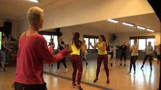 Zumba à Liège - warm up 1 - Black Betty's Worldwide - Xenia Ghali ft. Heymous Molly - ZIN 60