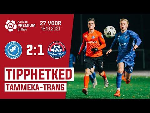 Tammeka Tartu Trans Narva Goals And Highlights