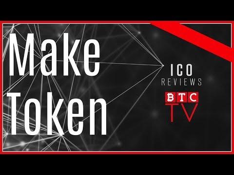 MakeToken ICO Review   Win $1000   BTC TV