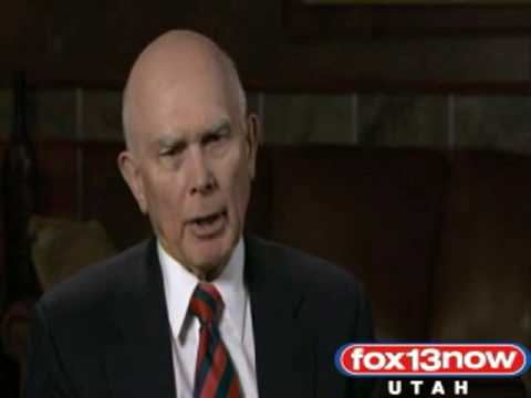Elder Dallin H. Oaks: Religious Freedom At Risk (Full Interview) 10/13/09