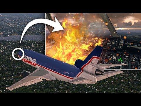 Fire On Board | Emergency Landing | Federal Express Flight 1406