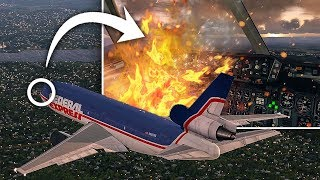 Fire On Board | Emergency Landing | Federal Express Flight 1406