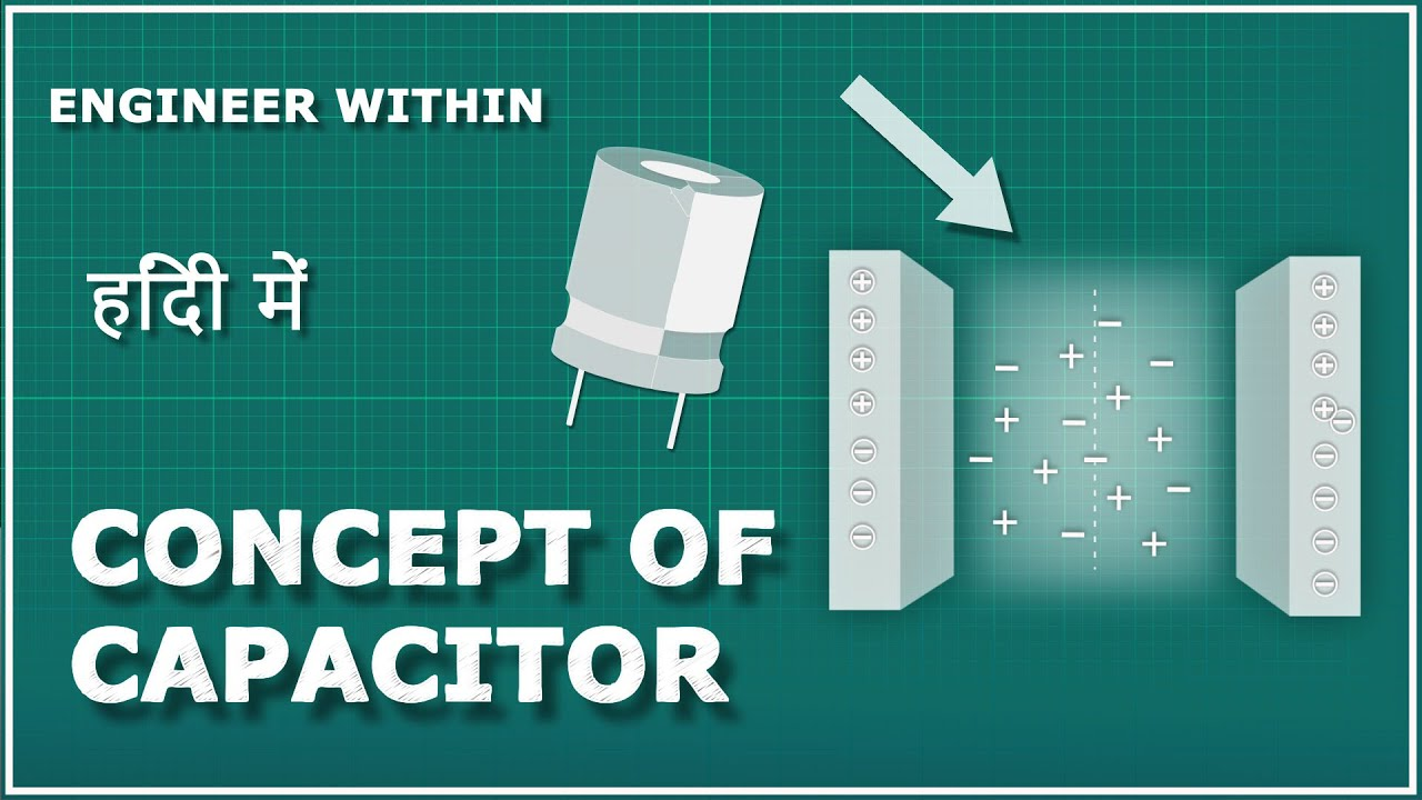 Concept Of Capacitor | How Capacitor Works? | Capacitor कैसे work करता है ?