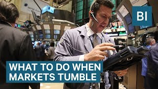 Why You Shouldn't Panic When The Stock Market Tumbles