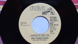Watch Earl Thomas Conley Chance Of Lovin You video