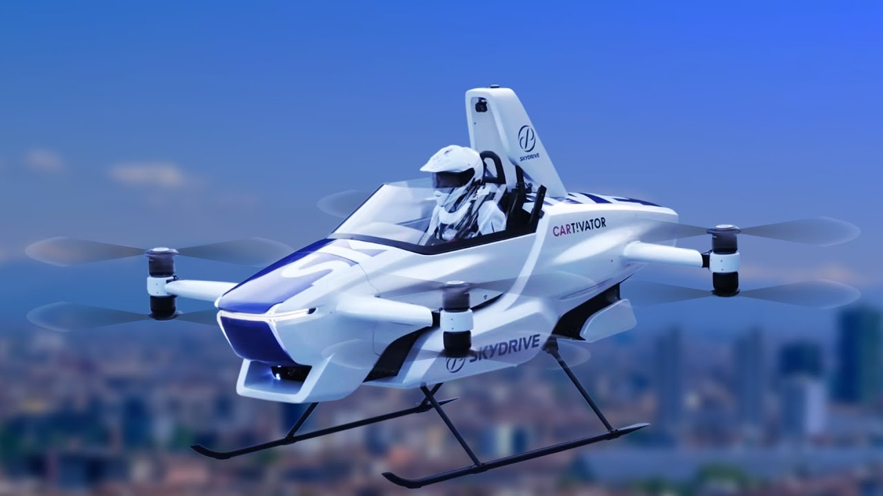 Top 8 New Flying Cars and Air Taxis - Best Personal Aircraft ▶️ 3