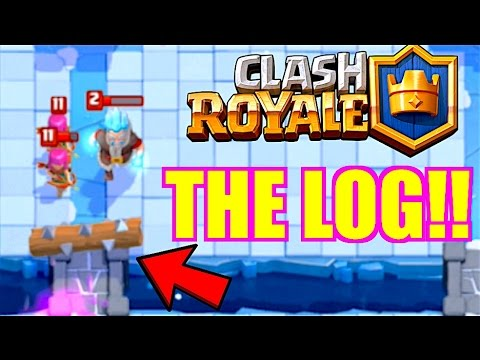CLASH ROYALE DAILY BATTLES - THE LOG!!
