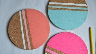 How To Make A Cork Bulletin Board With Trivets - Diy Home Tutorial - Guidecentral
