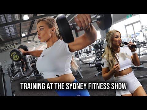 Stephanie Sanzo at the Sydney Fitness Show 2019
