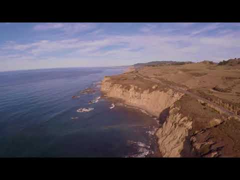 3DR Solo Drone ocean views
