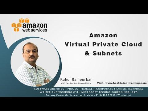 Amazon Virtual Private Cloud & Subnets