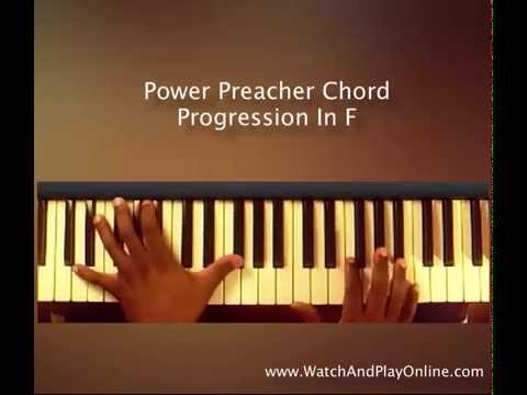 ♫ Power Preacher Chord Progression In The Key of F♫