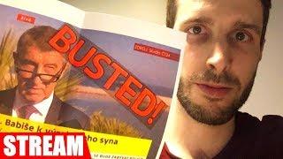 BABIŠ JUNIOR: Únos na Krym a Čapí hnízdo, vládní krize [live reakce]