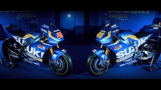 Suzuki launch 2016 MotoGP™ Campaign(Team Suzuki Ecstar today officially launched their 2016 MotoGP™ campaign with this video featuring Aleix Espargaro and Maverick Viñales., 2016-02-29T12:15:32.000Z)