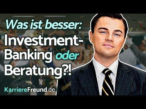 Investment-Banking Vs. Unternehmensberatung: Der Große Vergleich!