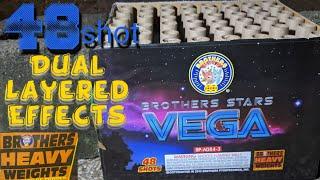 4️⃣8️⃣shot 500gram: VEGA (Brothers Pyrotechnics) *Stars Assortment*