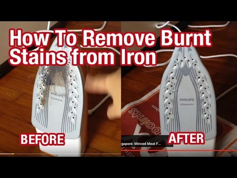 Cleaning Ceramic Iron Plate & PureMate PM13501 Powerful ...