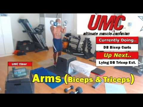 Ultimate Muscle Confusion (UMC) 50 Minute Whole Body Workout