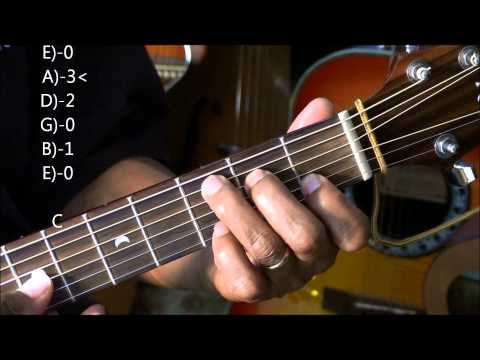 How To Play A Cool Folk Chord Progression Walk Down On Guitar Lesson In G