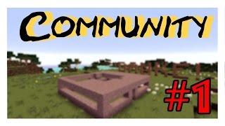 Community Projekt - Mit Niklas (1/2) - Vanilla Minecraft