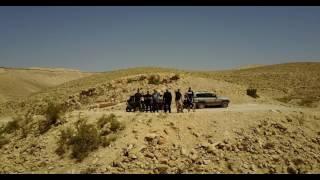 נחל קדרון מהרחפן - שועלי המדבר