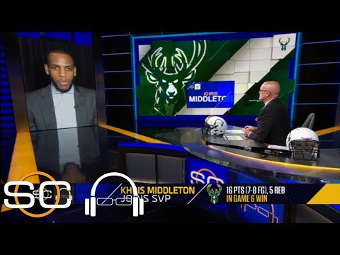 Khris Middleton: 'I wish we could take this crowd with us' to Boston | SC with SVP | ESPN