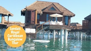 Sandals Royal Caribbean Over-the-Water Private Island Butler Honeymoon Bungalow