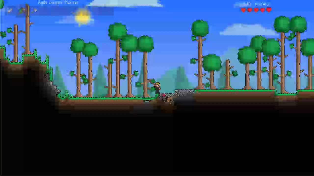 Let's Play Terraria - Making a Furnace (Part 1) - YouTube