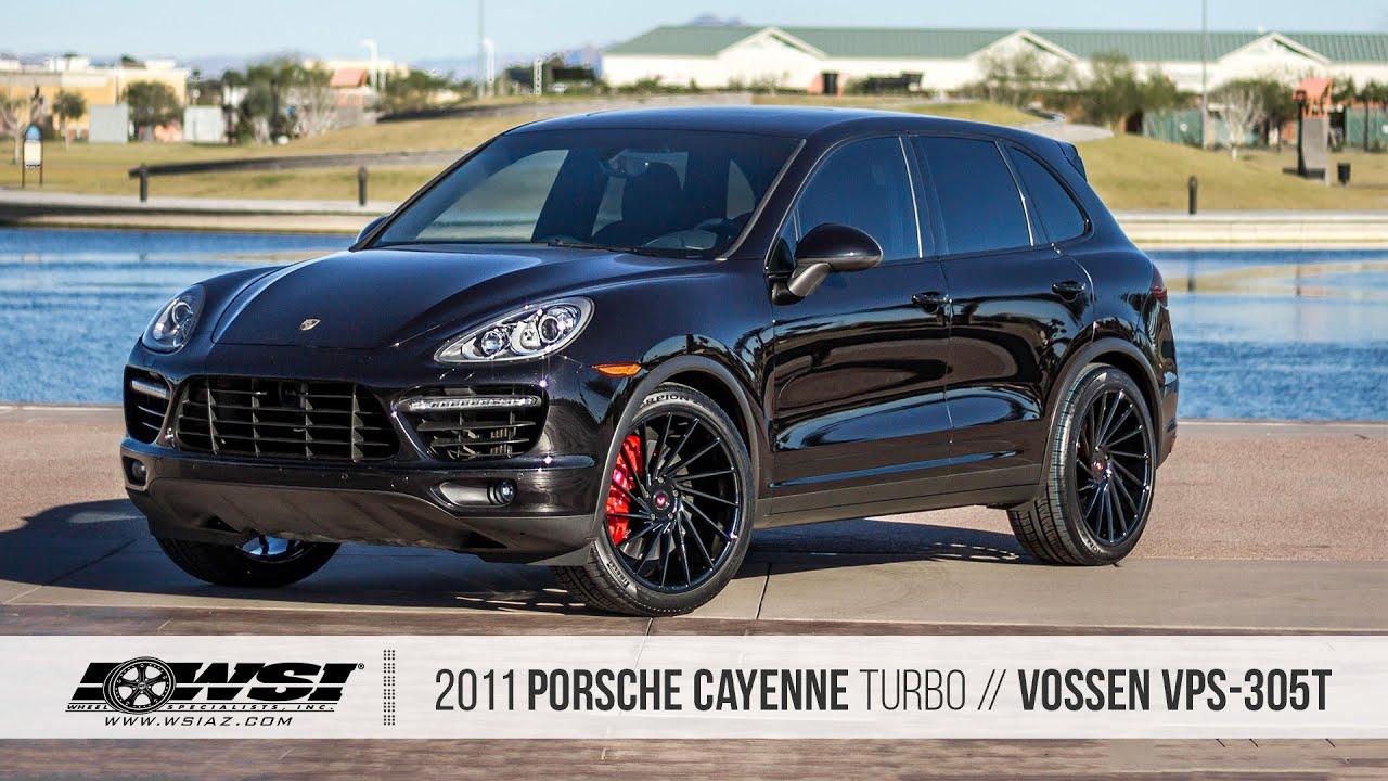 2011 Porsche Cayenne Turbo / Vossen VPS 305T - YouTube