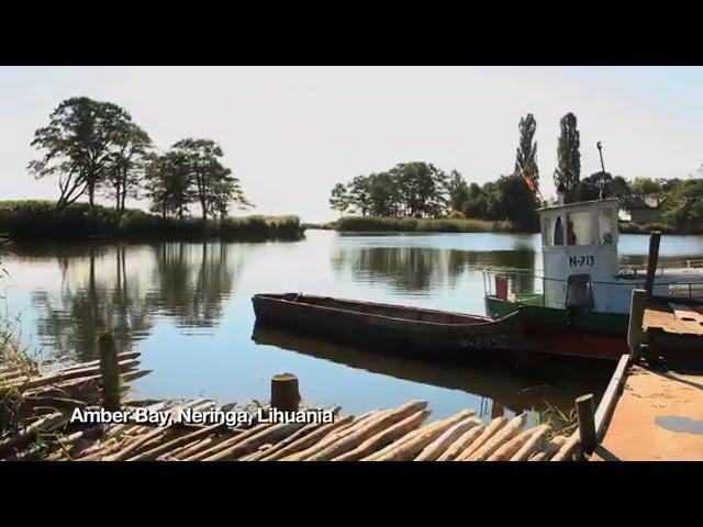 Amber Bay, Neringa, Lihuania - Silvija Travel Tips - Unravel Travel TV