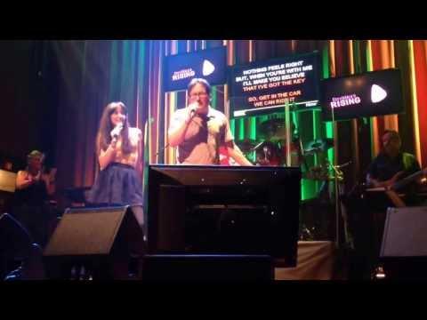 Moves Like Jagger Karaoke at Orlando CityWalk's Rising Star