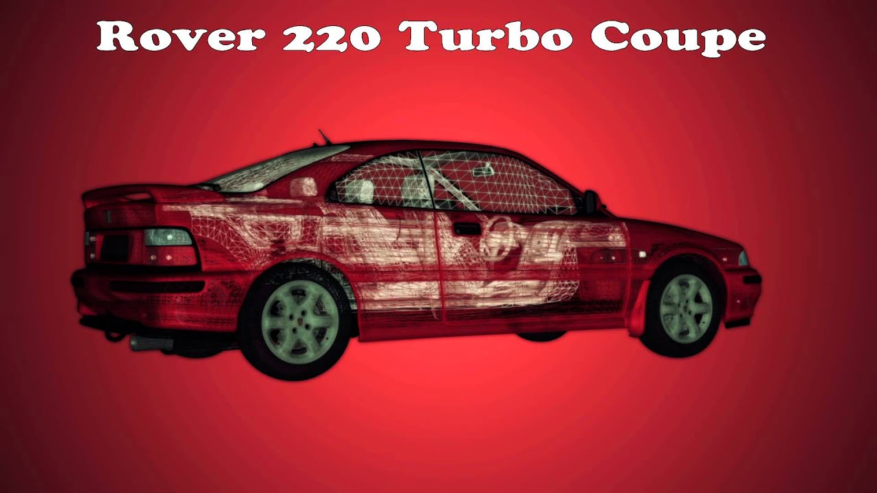 rover coupe 220 turbo 3d model video 7 after effects element 3d 1080p youtube. Black Bedroom Furniture Sets. Home Design Ideas