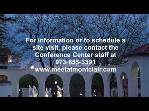 Venue Viewer for The Conference Center at Montclair State University