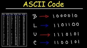 ASCII Code and Binary