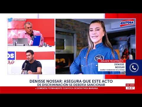 Denisse Nossar, Dueña De La Panka: Acto De Discriminación Se Debería Sancionar