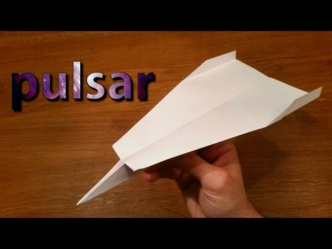 How To Make a Paper Airplane That Flies 100 Feet | Pulsar