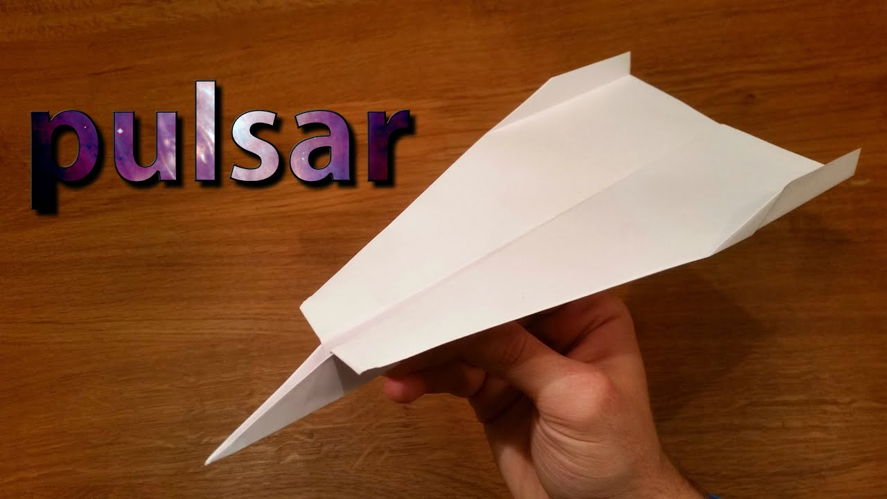 How To Make a Paper Airplane That Flies 100 Feet | Pulsar ... - photo#3
