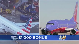 Southwest, American Airlines Announces Bonuses