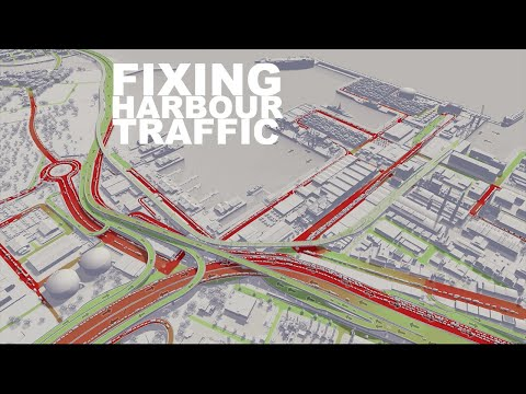 How I Fixed The Harbour Traffic Issues | Cities Skylines |