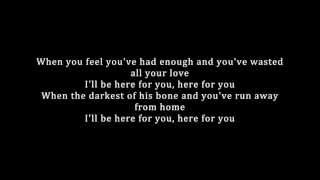 Kygo - Here For You feat. Ella Henderson (Lyrics)