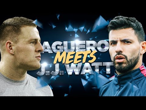 JJ WATT v SERGIO AGUERO | NFL Game Recognise Game | Behind the Scenes