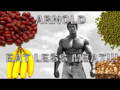Arnold Schwarzenegger - Eat Less Meat To Save The Planet