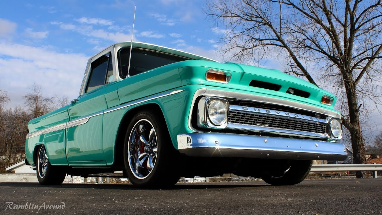 New Gmc Truck >> 1964 Chevrolet C10 Pickup LS3 V8 Corvette Brakes Custom Interior - YouTube