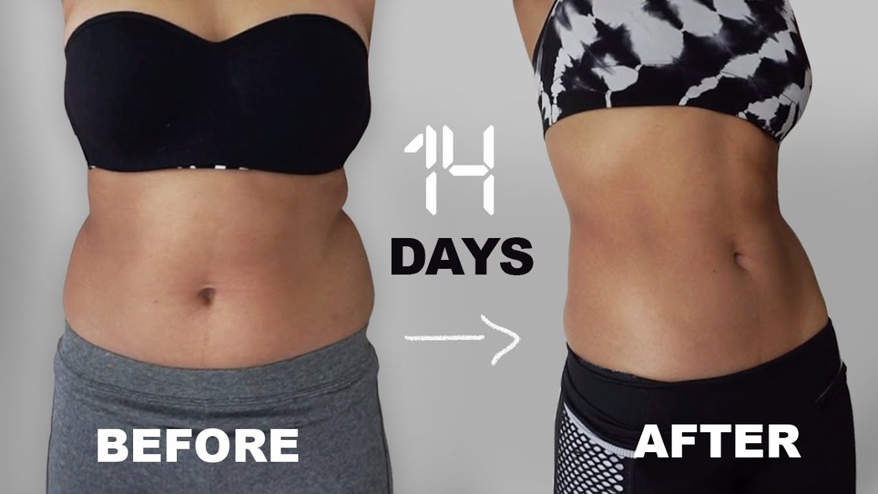 abs in 2 weeks? i tried chloe tings ab workouts… i'm shook ...