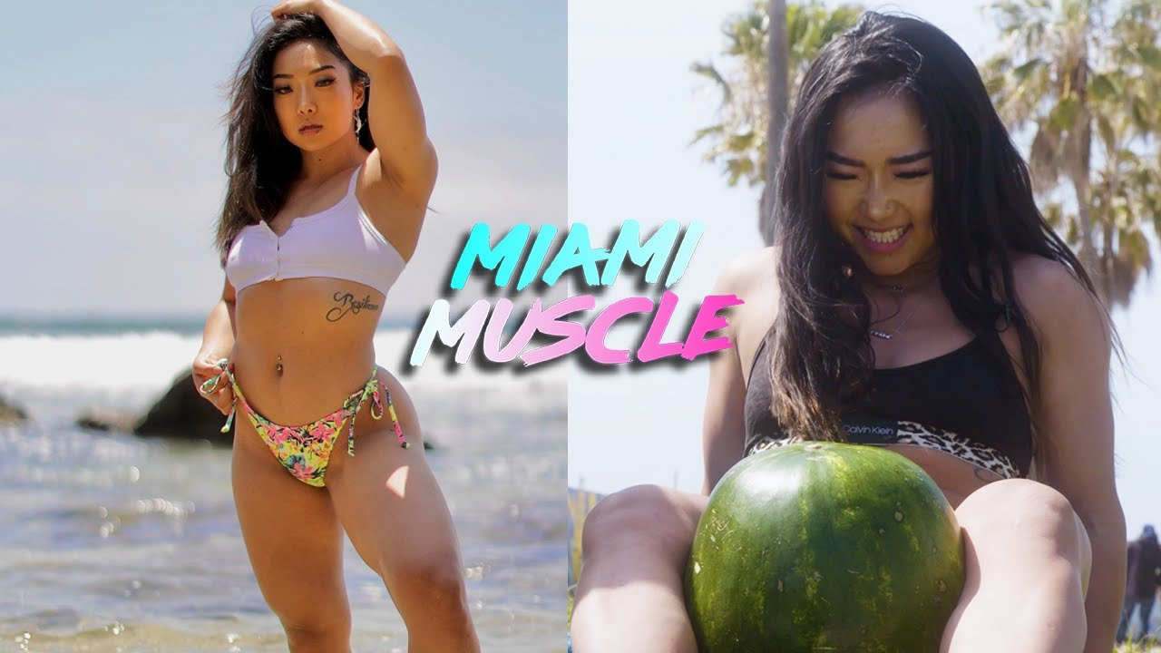I Can Lift 363lbs But Can I Crush A Watermelon With My Thighs? | MIAMI MUSCLE