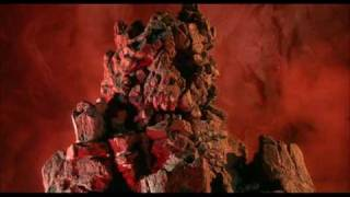 Return to Oz (1985) - Nome King death, original Jack Pumpkinhead stop-motion puppet