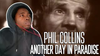 So Deep!!Phil Collins - Another Day In Paradise (REACTION!!!)