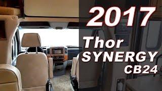 2017 Thor Synergy CB24 - Class C Motorhome - Holiday World of Katy (281.371.7200)