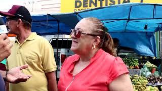 Limoeiro do Norte - Feira livre no centro comercial e atrativo para comerciantes e consumidores