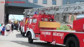 Ancien Camion pompier |  Porte Ouverte CSP Colmar 2016
